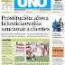 Tapa Diario Uno (Entre Ríos) 12-03-2017
