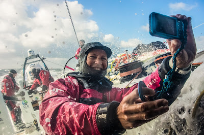 Les femmes de SCA pendant la Volvo Ocean Race