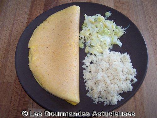 Comment faire une omelette soufflée ?