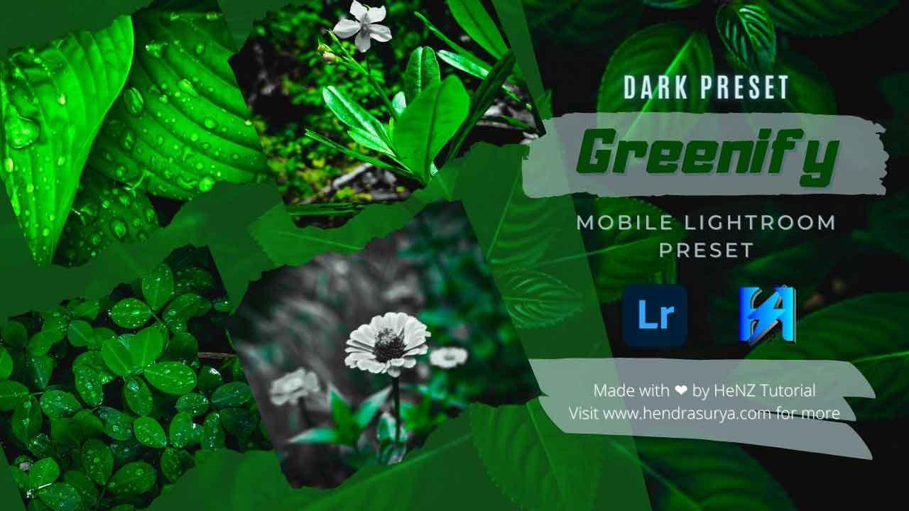Greenify - Lightroom Preset