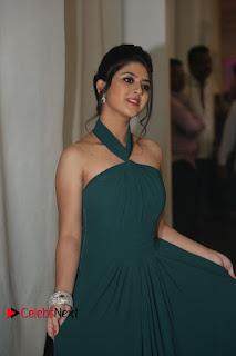 Actress Shriya Sharma Pictures in Long Dress at Nirmala Convent Audio Launch  0060