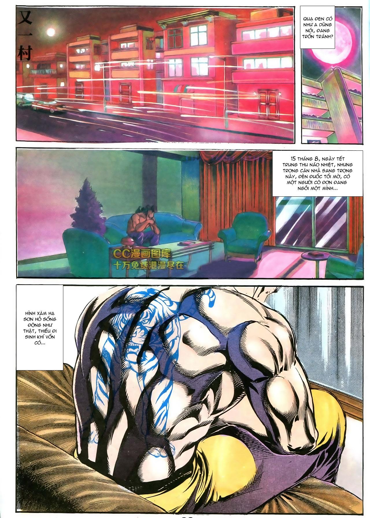 Người Trong Giang Hồ chapter 178: bối cảnh quạ đen trang 20