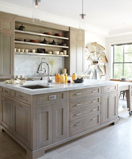 Cerused French Oak Kitchens and Cabinets – Kitchen Trend ...