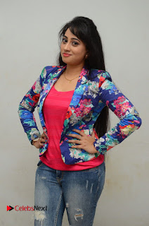 Television Anchor Actress Ashwini Pictures in Jeans at Iddharam Audio Launch  0001
