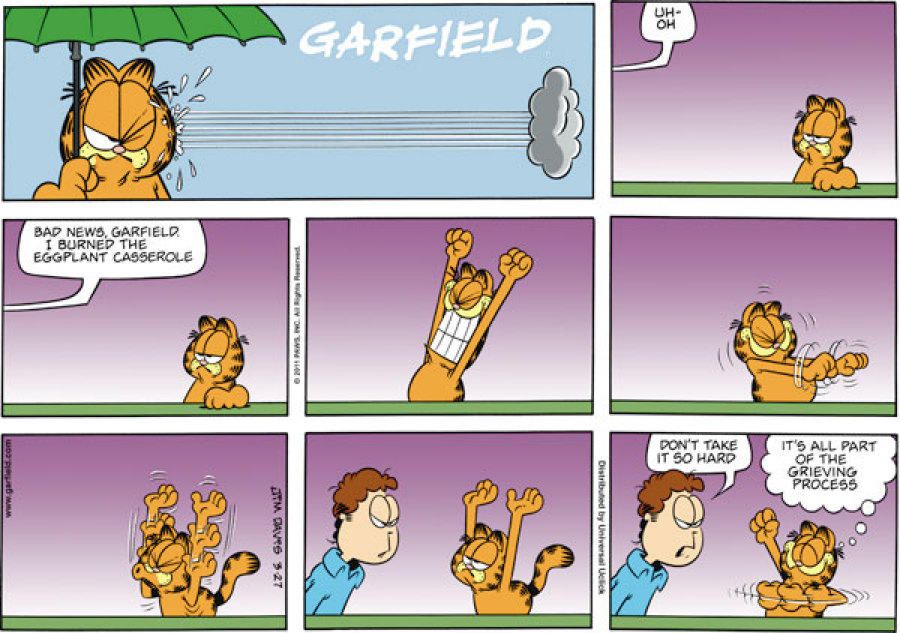 garfield cartoons go comics