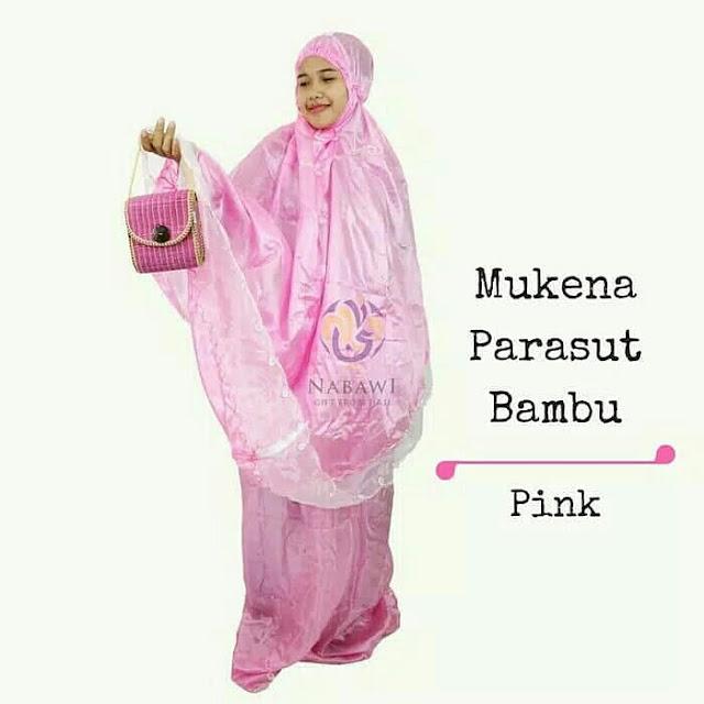 Mukena Parasut Bambu