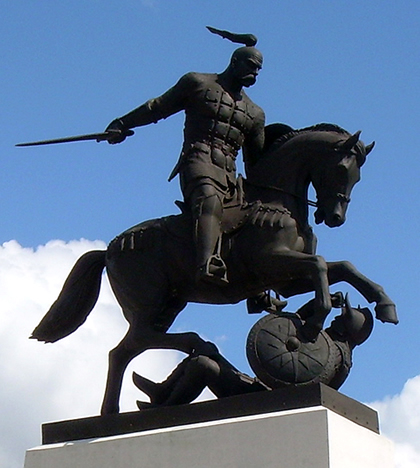 Sviatoslav statue