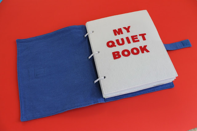 Homemade Quiet Book - Free Templates