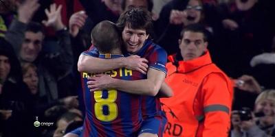 UEFA-16 : Barcelona 4 vs 0 Stuttgart 17-03-2010