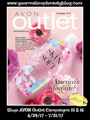 Shop Avon Outlet Campaigns 15/16 Good Through 7/21/17. While Supplies Last!