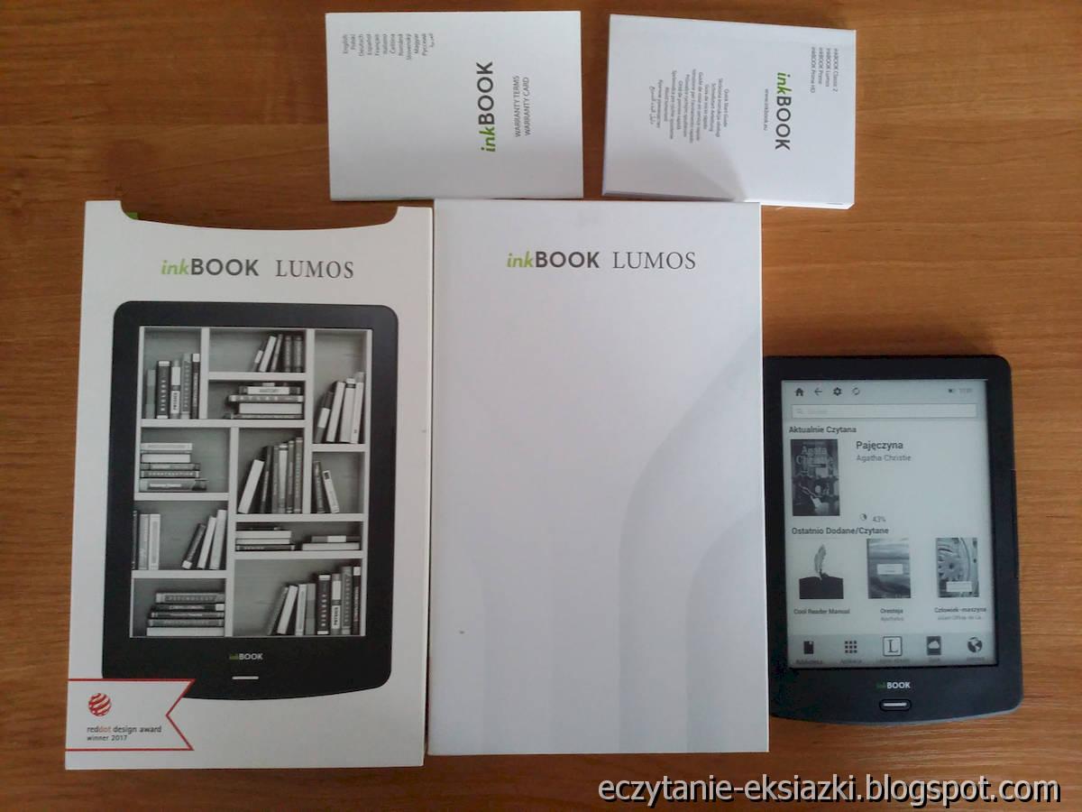 InkBOOK LUMOS – czytnik, opakowanie i jego zawartość