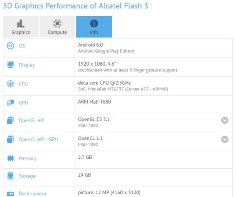 Flash 3 leak and rumors