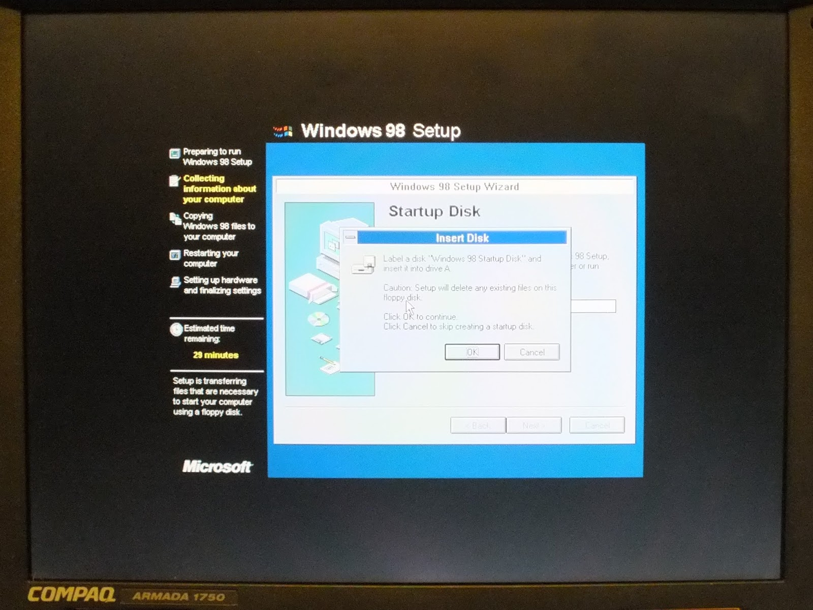 My Retro and Vintage Computing Blog: How To    Install Windows 98SE