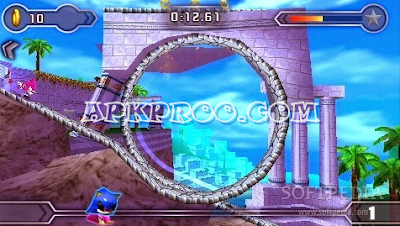 Game PPSSPP Sonic Rivals 2 ISO High Compressed Free Download