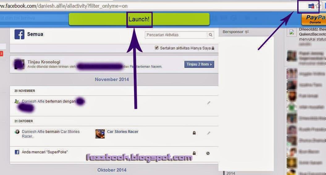 Cara Menghapus Semua Riwayat Aktifitas Facebook Secara Otomatis