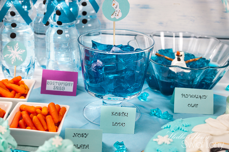 Słodko Słony świat Ilony Przyjęcie Urodzinowe W Stylu Krainy