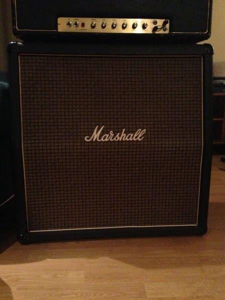 canadian vintage guitar hunt 1972 marshall speaker cabinet. Black Bedroom Furniture Sets. Home Design Ideas