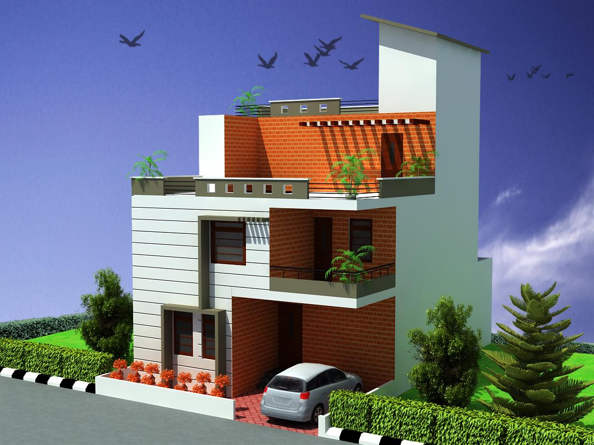Triplex House Plans Designs