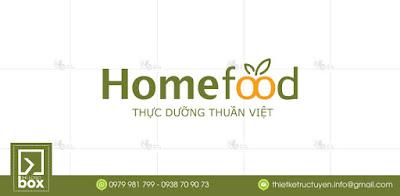 Thiết kế logo thực phẩm