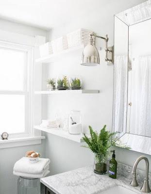 แบบห้องน้ำตกแต่งต้นไม้