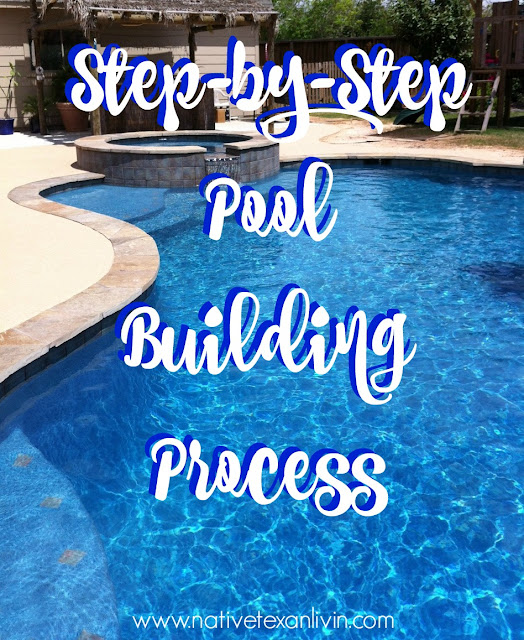See how we build our pool step by step with pictures showing every phase