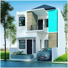 Desain Terbaru Rumah Minimalis 2 lantai Type 36 Paling Nyaman Untuk Hunian