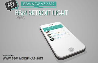 BBM Mod Retroit Light Versi 3.2.5.12 APK