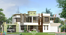 2802 Sq-ft Box Type Home - Kerala Design And Floor Plans