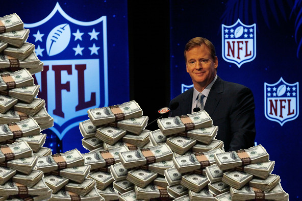 roger goodell money