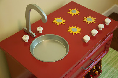 Nightstand Play Kitchen