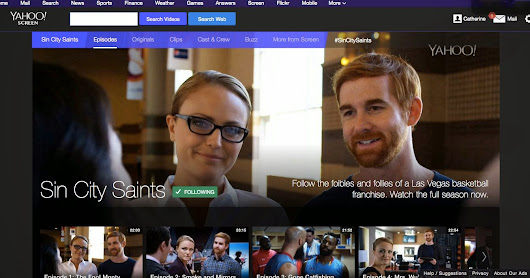 All 8 episodes of Sin City Saints are LIVE on Yahoo Screen!