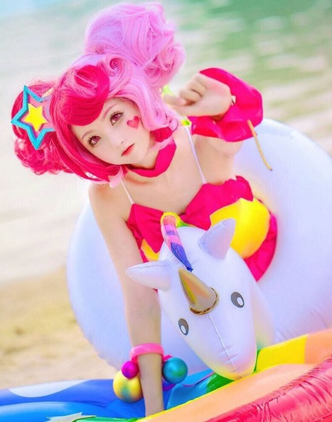 kawaii fashion cute outfits pastel hair pretty clothes jfashion fashion blogger blog anime girl xiaorouseeu unicorn