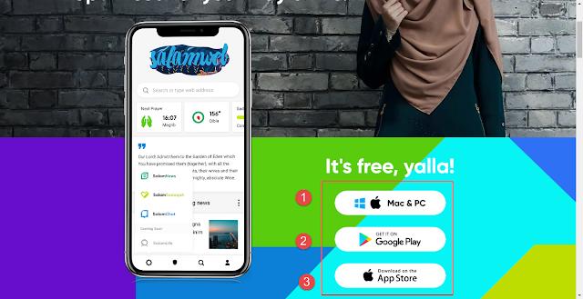 Download SalamWeb for Windows