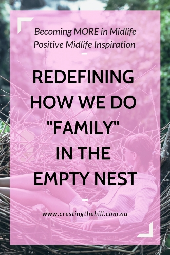 When your children leave home the nest doesn't need to stay empty. Make an effort and your adult kids will keep coming home regularly. #emptynest #midlife