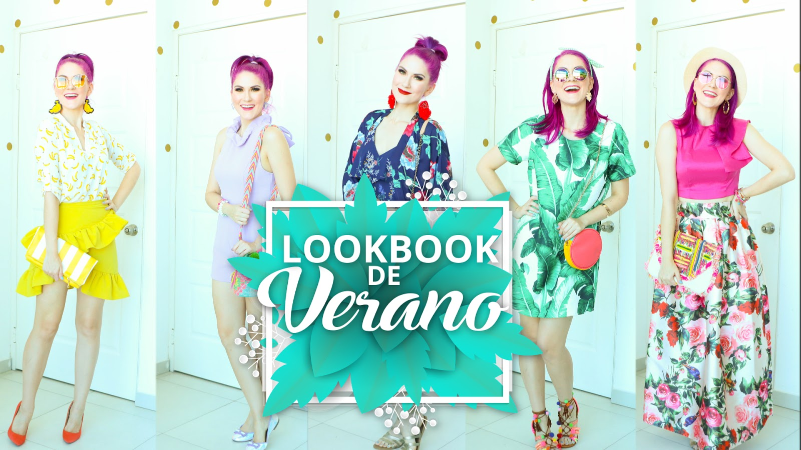 Lookbook de Verano con 6 ideas de Outfits con Tendencias de la Temporada