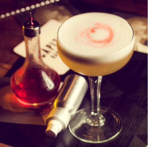 'Smoked Apple Sour' from Lucky's Canberra