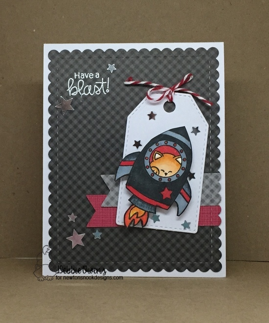 Have a blast by Debbie features Cosmic Newton and Frames & Flags by Newton's Nook Designs; #newtonsnoo
