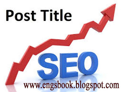 What should be the title of the blog post-seo