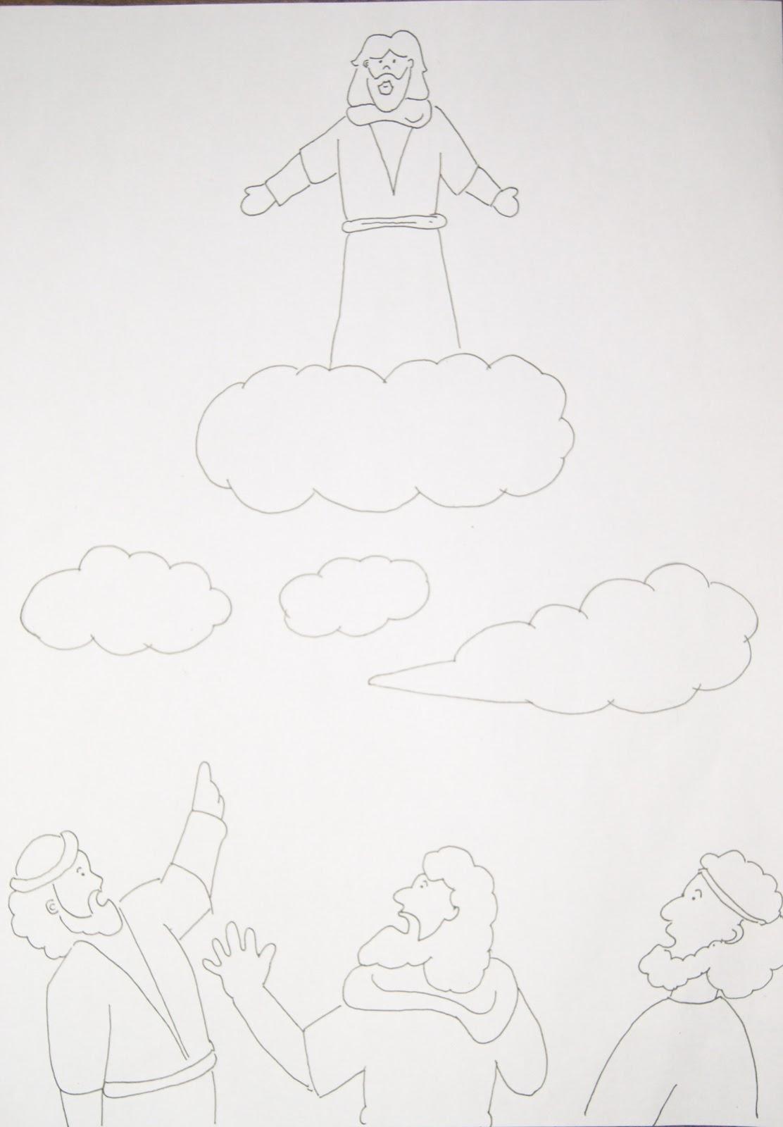 Catatan Sigal Bahan Kreativitas Sekolah Minggu 12 Mei 2013 Yesus Naik Ke Surga Pia Kumetiran
