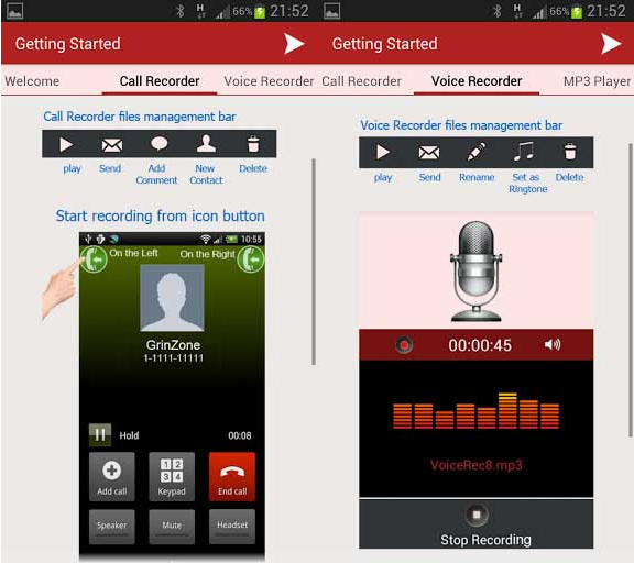 free phone call recording app android