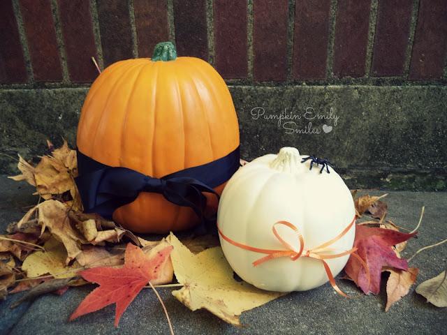 Bow Tie Pumpkins