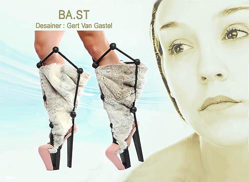 Desain model sepatu wanita yang unik dan cantik
