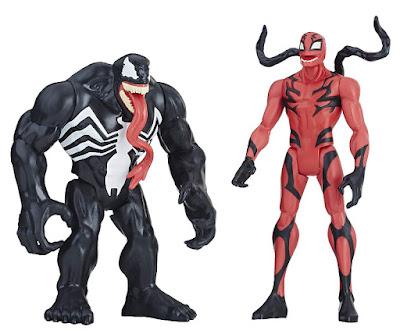 Toys MARVEL Venom Pack Venom & Carnage  2 Figuras de acción | Muñecos  Hasbro E2937 | PELICULA 2018 | A partir de 4 años  COMPRAR ESTE JUGUETE