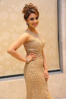 Muskan Sethi in a Gorgeous Sleeveless Glittering Gown at Paisa Vasool audio success meet ~  Exclusive Celebrities Galleries 029.JPG