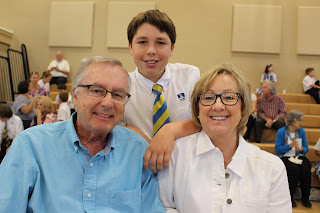Montgomery Catholic's Holy Spirit Campus Welcomed Grandparents to Campus 1