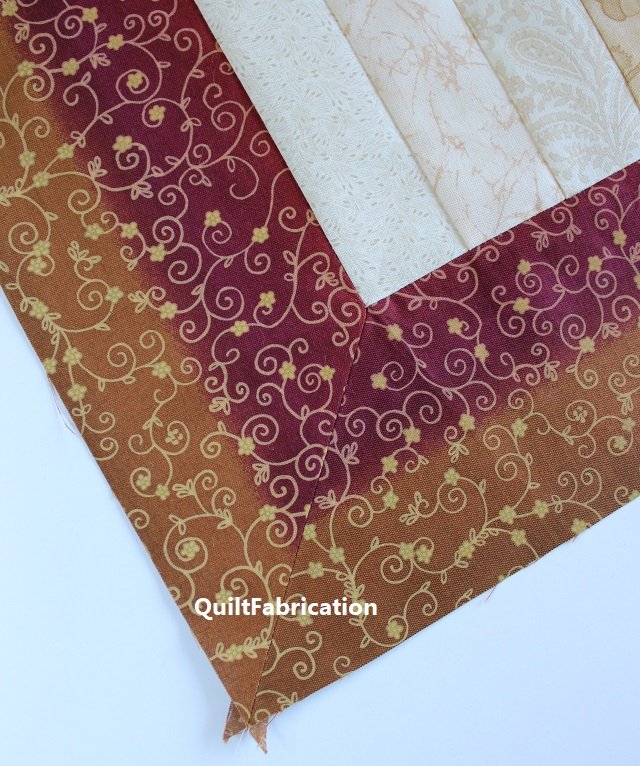 mitered quilt border