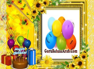 Doa Ulang Tahun Dalam Bahasa Arab Dan Artinya