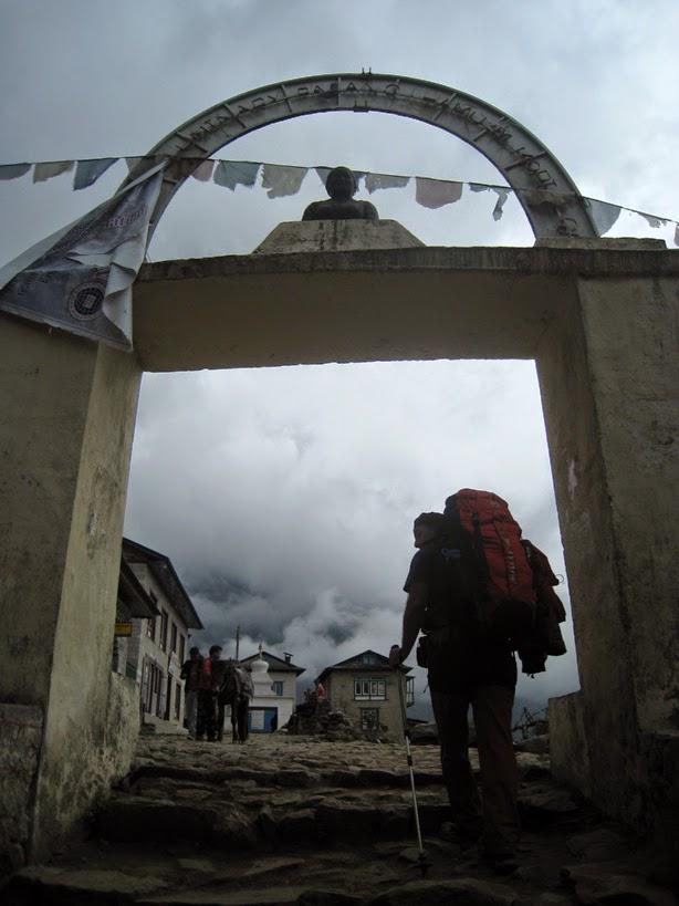 De vuelta en Lukla