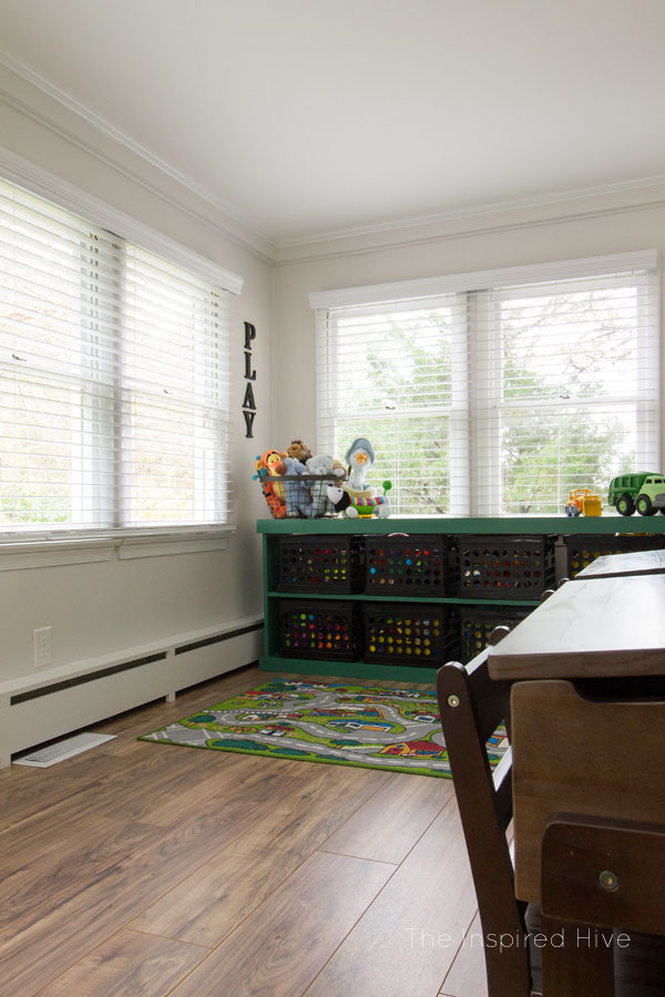 Babyproofing tip- Buy cordless blinds! Especially in the playroom and nursery for baby and toddler safety.