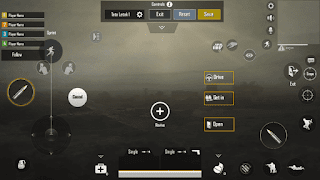 Setting Layout Kontrol Pemain 2 Jari PUBG Mobile